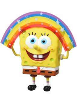 Игровая фигурка SpongeBob Masterpiece Memes Collection Rainbow SB [EU691001]