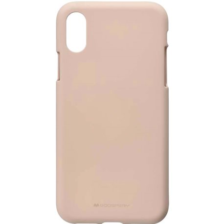 Goospery SF Jelly для iPhone X / XS [PINK SAND (8809550409224)]