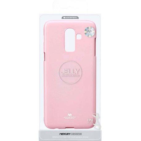 Фото Goospery Jelly Case для Galaxy J8 (J810) [PINK (8809621279053)]
