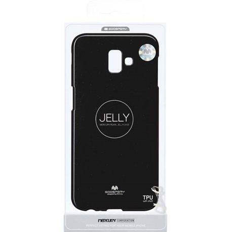 Фото Goospery Jelly Case для J6 Plus (J610F) [BLACK (8809621297910)]