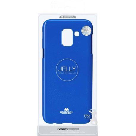 Фото Goospery Jelly Case для Galaxy J6 (J600) [NAVY (8809610546227)]