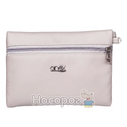 Косметичка Anex Q1 TORBA-PORTFEL SZARA SKORA Q1Bag-Wallet Gray Lather Q1