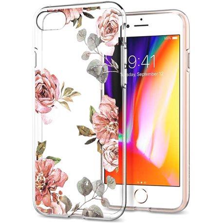 Фото Spigen Liquid Crystal для iPhone 8/7 [Aquarelle Rose (054CS22619)]