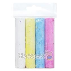 Крейда кольорова кругла Зибнєв 4 кольори