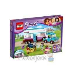 """Конструктор LEGO """"Ветеринарный фургон для лошадей"""" 41125"""