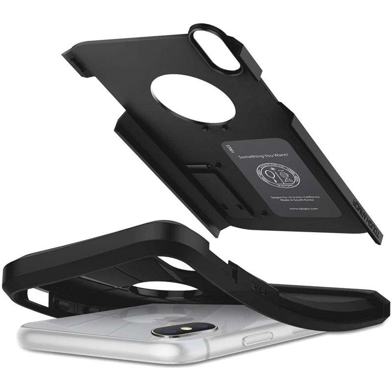 Фото Spigen Tough Armor для iPhone XS Max [Black (065CS25130)]