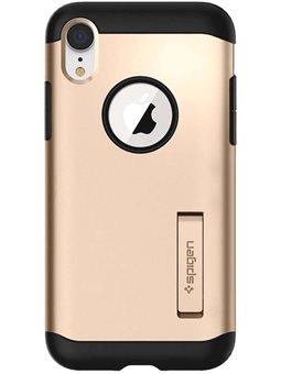 Spigen Slim Armor для iPhone XR [Champagne Gold (064CS25144)]