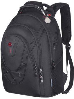 """Рюкзак с отделением для ноутбука, Wenger Ibex 125th 16 """"Slim, черный [605500]"""