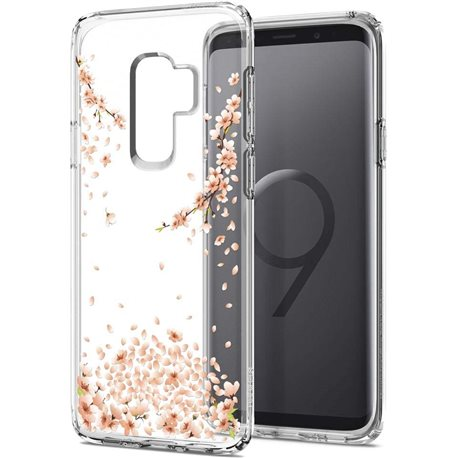 Фото Spigen Liquid Crystal для Galaxy S9 + [Blossom Crystal Clear (593CS22914)]