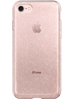 Spigen Liquid Crystal для iPhone 8/7 [Glitter Crystal Quartz (042CS21760)]