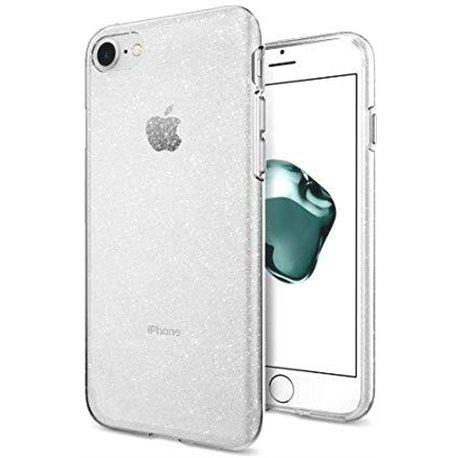 Фото Spigen Liquid Crystal для iPhone 8/7 [Glitter Crystal Quartz (042CS21760)]