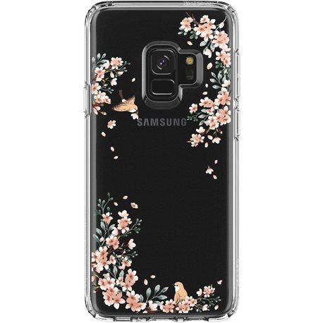 Фото Spigen Liquid Crystal для Galaxy S9 [Blossom Nature (592CS22828)]