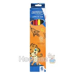 Олівці кольорові BRW 4004/2234