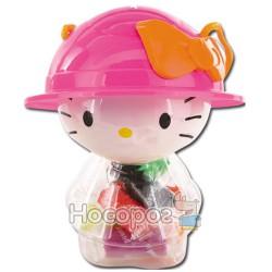 """7701-10 Масса для лепки """"Котёнок в шляпке-копилка""""(16 цветов+2 формочки)(59)"""