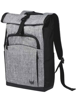 "Acer PREDATOR ROLLTOP Jr. BACKPACK FOR 15.6 ""PREDATOR NBs GRAY DUAL-TONE"