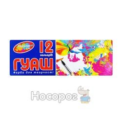 """Краски Гуашь Колорит ГДТ-12/16 """"Твой стиль"""" 12цветов"""