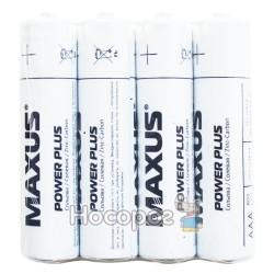 Батарейки мініпальчик MAXUS R03-AAА-P4 Power plus
