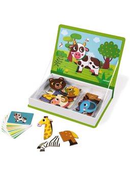 Janod Магнитная книга - Животные