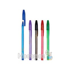 Ручка шариковая 1 Вересня Linear синяя 411830