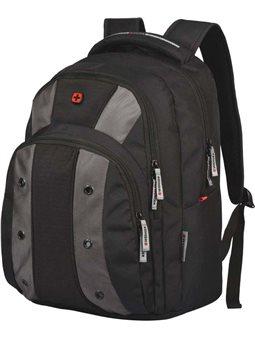 """Рюкзак с отделением для ноутбука, Wenger Upload 16 """", черно-серый [604431]"""