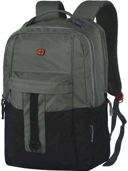 """Рюкзак с отделением для ноутбука, Wenger Ero 16 """", серо-черный [604430]"""
