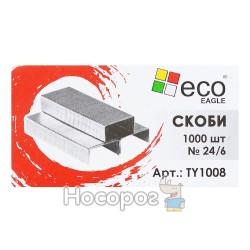 Скоба № 24 Eco Eagle 1008 (В Упаковке 1000 шт)