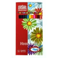 Карандаши цветные Memoris MF16423-12 акварельные