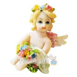 Фигурка керамическая Девочка-ангел