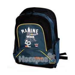 Ранець шкільний Fantasy 1696D06 розміром 44*31,5*15см. синьо-чорний