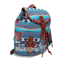 Рюкзак SAF 9798 Canvas/PU, 1 відд., 34*33*14см 13018190