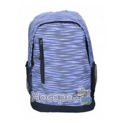 Ранець-рюкзак SAF 97019 300D PL, сір-фіол. (1 відд., 43*30*18см) 13018390