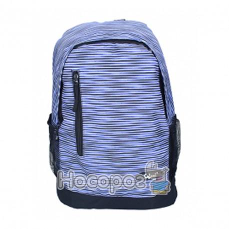 Фото Ранець-рюкзак SAF 97019 300D PL, сір-фіол. (1 відд., 43*30*18см) 13018390