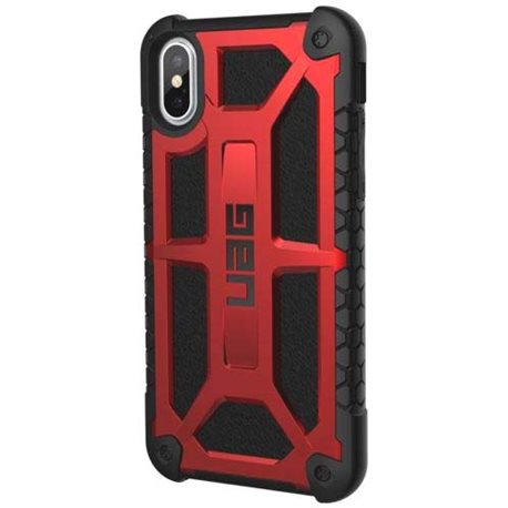 Фото UAG Monarch Case для iPhone X [Crimson]