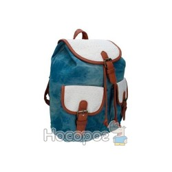 Рюкзак SAF 9797 Canvas/PU, 1 відд., 33*29*12см 13018180