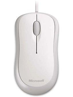 Microsoft Basic Optical USB [White]