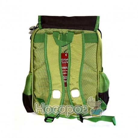 Фото Ранець шкільний Fantasy 169K303 розміром 40*28*13см. темно-зелений
