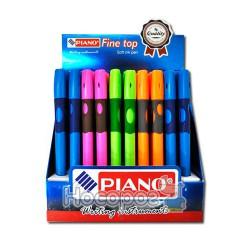 Ручка шариковая PIANO PT-251-R тренажер для правшей