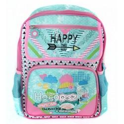 Ранець шкільний Fantasy 165K708 розміром 38*27*12см. рожевий