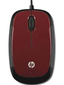 HP Mouse X1200 [Flyer Red]