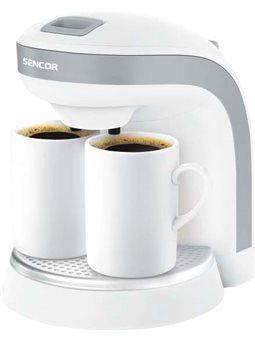 Кофеварка капельная Sencor SCE2001WH [SCE2001WH]