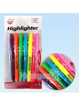 Набір текстових маркерів 056962, 6 кольорів, круглі