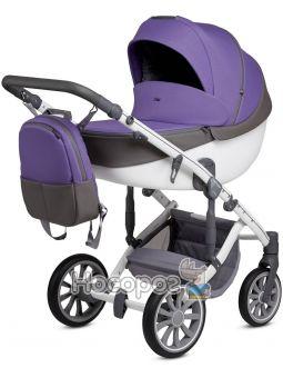 Коляска Anex 2в1 модель Q1 SP21 ultra violet/жаккардова фіолетова