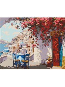 Картина по номерам Уютное местечко КНО2180