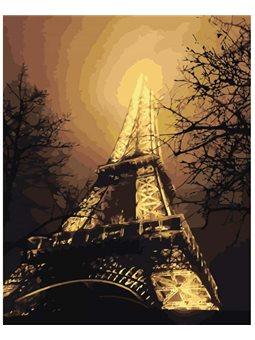 Картина по номерам В красках ночного города КНО2190