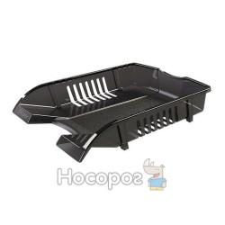 Лоток Skiper SK-03 горизонтальний пластиковий, чорний 355136