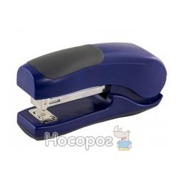 Степлер NORMA 4047 №24/6-26/6 пластик, 25арк., 55мм, вертик., синій (04021256) (12/144)