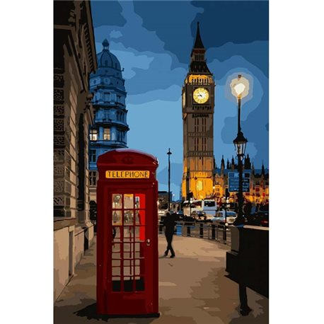 Фото Вечерний Лондон КНО3546