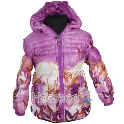 Куртка №327 С для девочек Бабочка