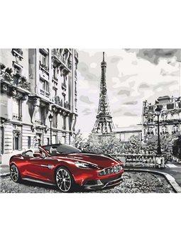 Картина по номерам Парижское утро КНО3514