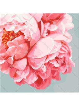 Картина по номерам Розовые пионы КНО3035